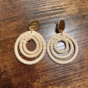 Big Circle Francesca Dangle Earrings